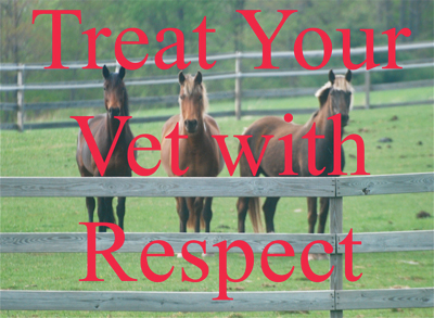 Treat Your Vet with Respect
